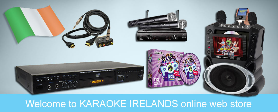 Karaoke Irelands Online Shop