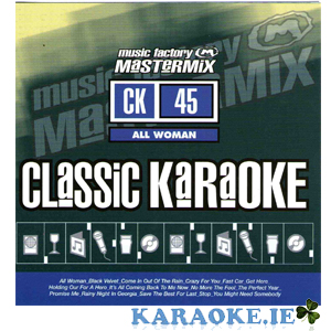 Mastermix Karaoke - Vol 45 All Woman