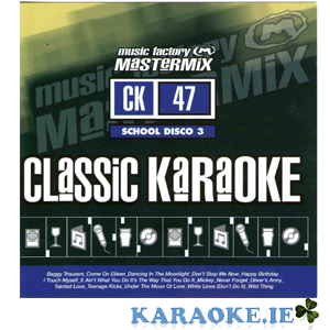 Mastermix Karaoke - Vol 47 School Disco 3