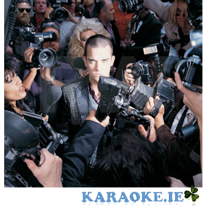 Robbie Williams - Thru' A Lens Mastermix Karaoke - Vol 50