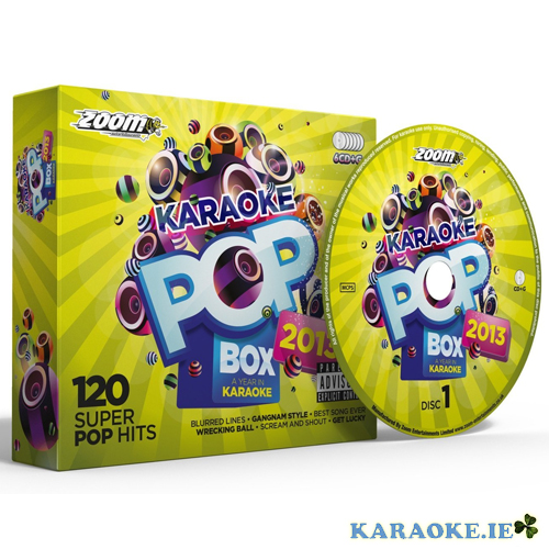 Karaoke Pop Box 13 (6 Disc set)