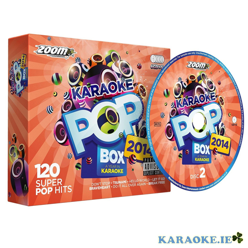 Karaoke Pop Box 14 (6 Disc set)