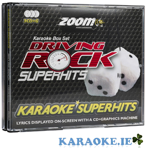 Driving Rock Superhits Triple CD+G Pack