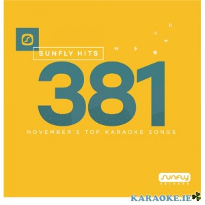 Sunfly Chart Hits 381 (Back Order Please allow 7 working days to receive this disc)