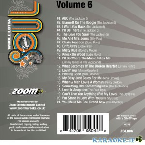 A Whole Lotta Soul CD+G Vol 6