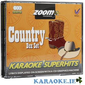 Country Superhits Triple CD+G Pack