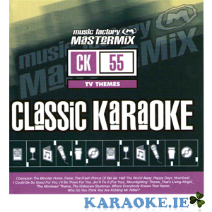 Mastermix Karaoke - Vol 55 TV Themes