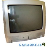 "14"" Portable TV ideal for karaoke (used)"