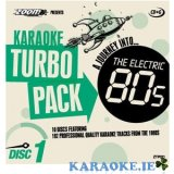 Karaoke 80s Turbo Pack (10 discs)