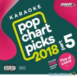 Pop Chart Picks 2018 Part 5 with Free five of a kind Disc