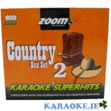 Country Superhits Triple CD+G Pack Volume 2