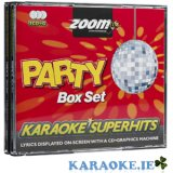 Party Superhits Pack 3 Pack CD+G Box Set
