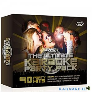 Ultimate Karaoke Party Pack 6 Pack CD+G Box Set