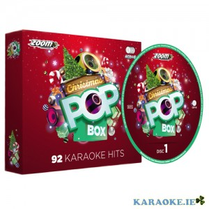 Christmas Karaoke Pop Box (4 Disc set)