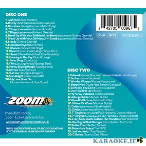Provided Karaoke Discs Zoom Pop Chart Picks Hits 2019 Part 2-40 Tracks On 2 Cd+g Discs Karaoke Entertainment