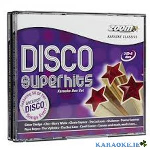 Disco Superhits Triple CD+G Pack